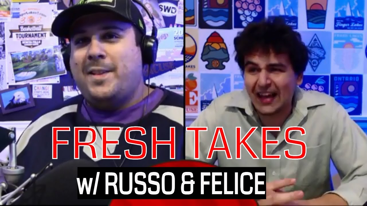 FRESH TAKES w/ RUSSO & FELICE: World Series, Mega Millions and plenty of football talk (podcast)