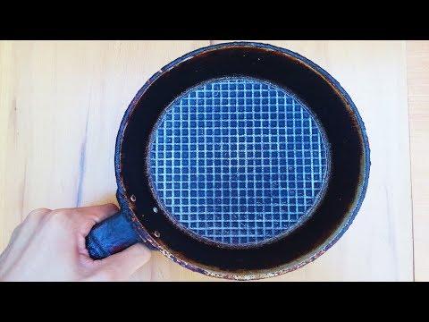 Старая сковородка, плюс лампочка: что из этого может получиться в женских руках