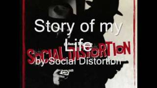 Social Distortion - Story of my Life (Lyrics)