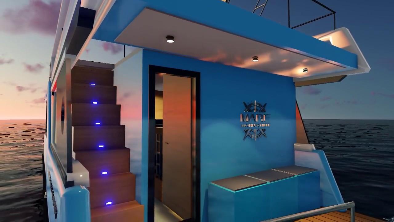 hausboot kaufen mit elektroantrieb youtube. Black Bedroom Furniture Sets. Home Design Ideas