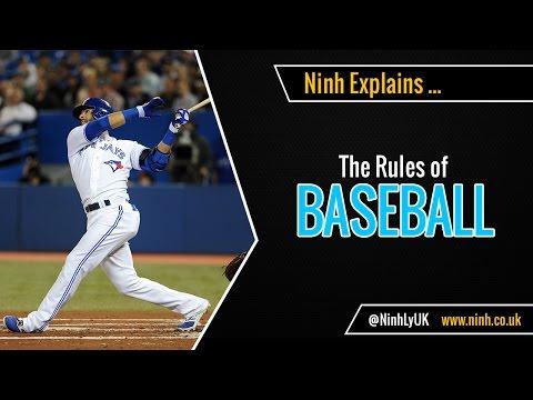 The Rules of Baseball - EXPLAINED!