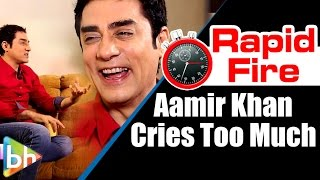 """aamir khan cries too much"": faissal khan"