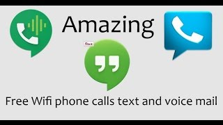 how to setup a android phone to make and receive free calls text and voice mail