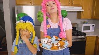 Cocinando Dulces para la Fiesta de Halloween S3:E180