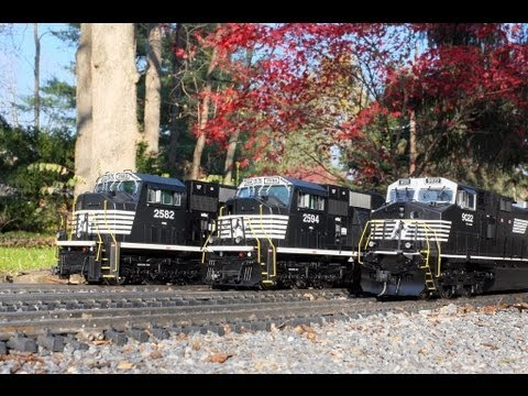 Modern Freight Trains - G Scale