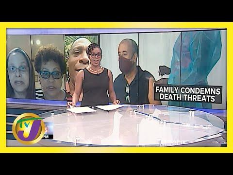 Jamaican Journalist Michael Sharpe's Family & Friends Condemn Death Threats | TVJ News