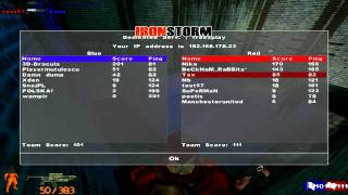 IronStorm 2012 | Multiplayer  20 Players by 840*480 60Hz