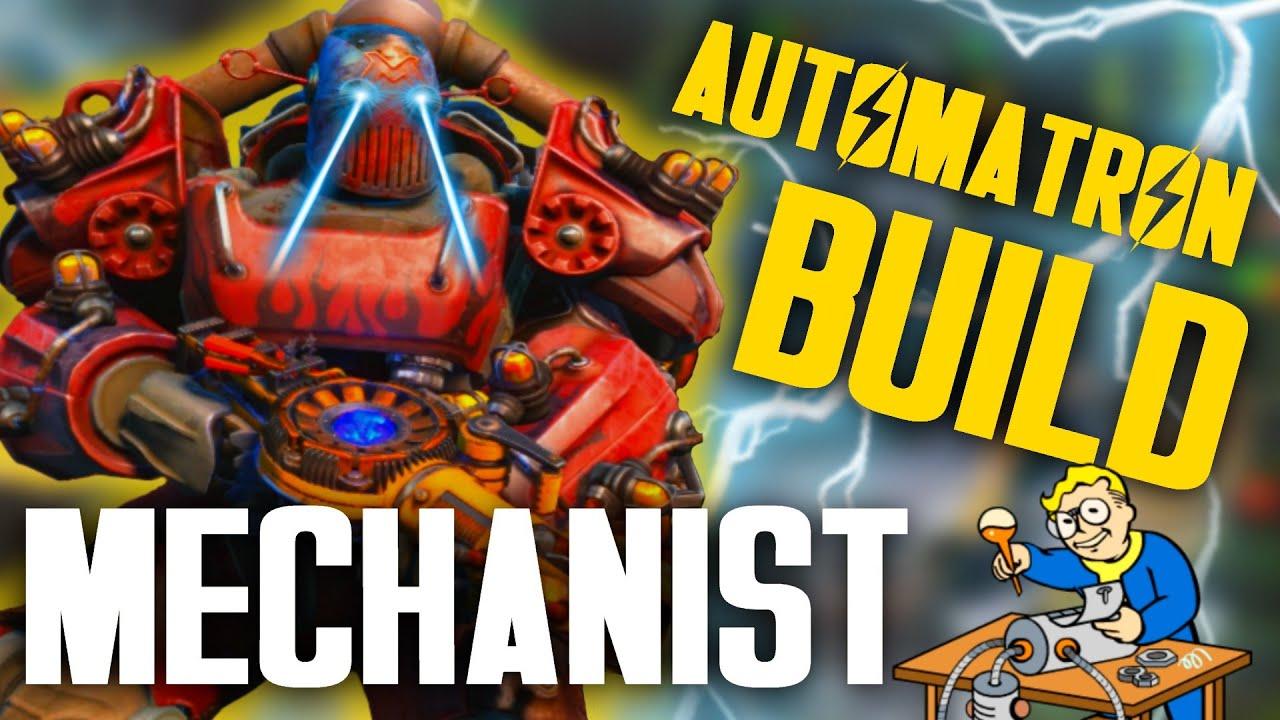 Fallout  Automatron Build
