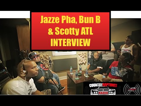 Scotty ATL Talks Country Rap Tunes w/ Bun B, Cory Mo & Jazze Pha on CRT Radio
