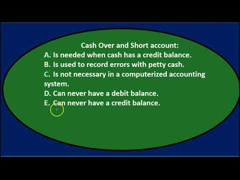 Multiple Choice Questions 5 - Cash and Internal Controls - Financial Accounting