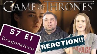 Game Of Thrones | S7 E1 'Dragonstone' | Reaction | Review