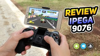 IPEGA 9076 Excelente Gamepad Para Android & Windows -  Review En Español