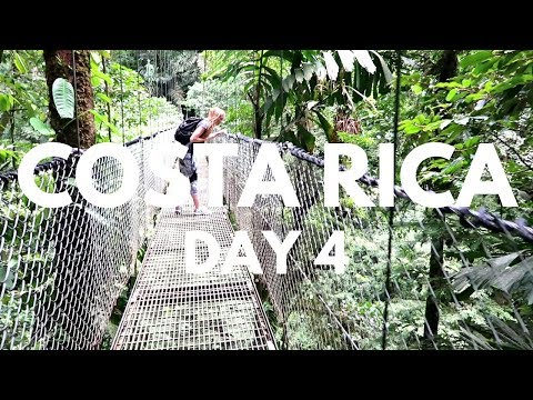 Costa Rica Vacation Vlog Day 4 | Vacation on a Budget