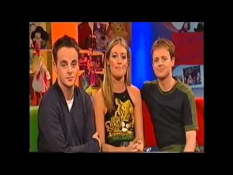 Ant and Dec rude blooper on SM:TV Live.