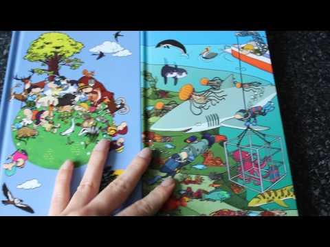 Книга Найди и покажи, на природе и океаны CLEVER отличие в на задней обложке