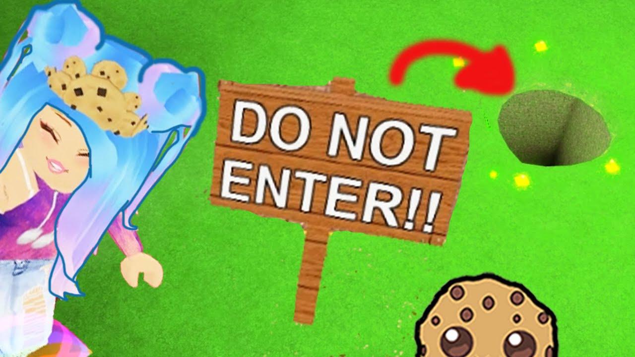 Sign Says Do Not Enter So I Enter Anyway Random Roblox Adopt Me