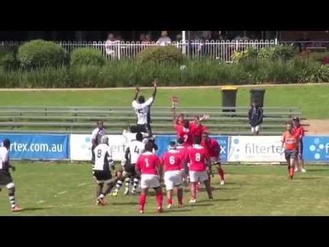 Fiji Warriors vs Tonga A - 1st Half