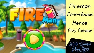 Fire Training Academy - Fireman Fire House Heros - Cool App Game For Android Devices