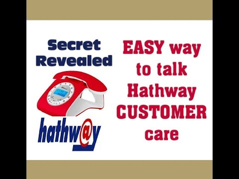 HOW TO CONNECT A CALL WITH HATHWAY CUSTOMER CARE EASILY
