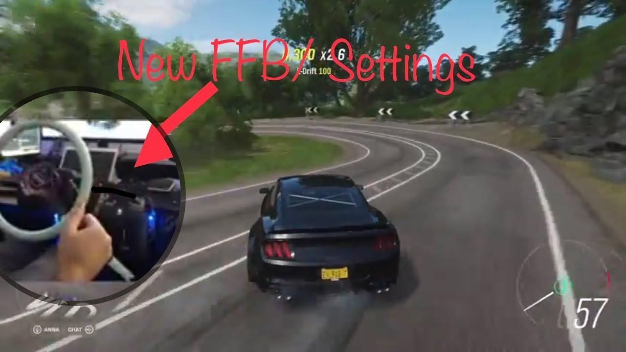 Download Horizon 4 Wheel settings after FFB Update drifting feels so good / logitech g920 /