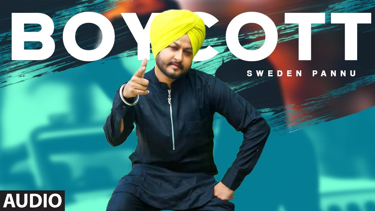 Boycott (Full Audio Song) Sweden Pannu | The Wickedz | Exclusive Punjabi Song on NewSongsTV & Youtube