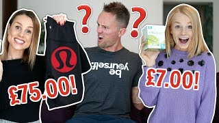 DAD GUESSES PRICE OF OUR GIRLIE ITEMS!