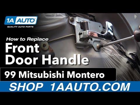 How to Replace Front Interior Door Handle 92-99 Mitsubishi Montero
