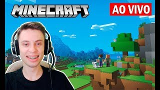 🔴 Live - Minecraft Survival #11 - Ficando FULL DIMA