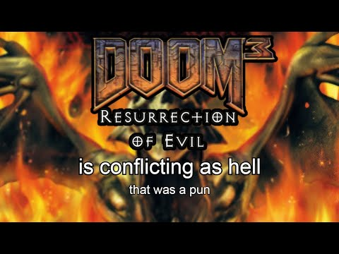 doom 3 ROE - is conflicting as hell |