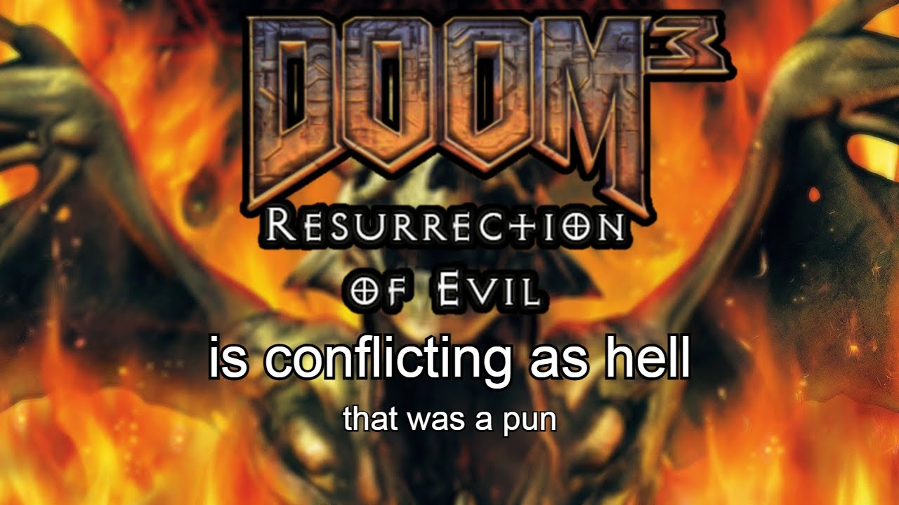 Download doom 3 ROE - is conflicting as hell