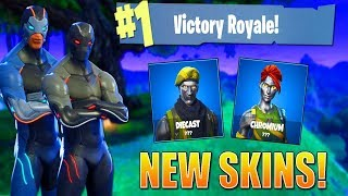 Fortnite New DIECAST + CHROMIUM Skins Here! | Level 100 OMEGA Grind! | SEASON 4! (Fortnite Br)