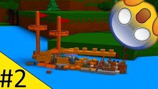 ABBIAMO QUASI PASSATO ATTRAVERSO LA LAVA! - Costruire una barca Ep 2 - ROBLOX