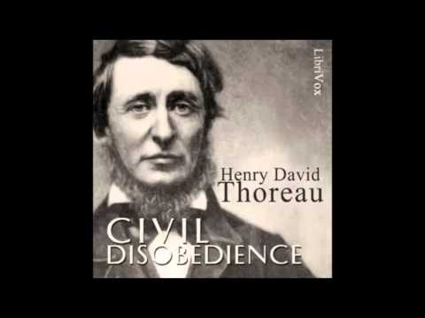CIVIL DISOBEDIENCE - Full AudioBook - Henry David Thoreau