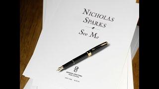 Nicholas Sparks - New Novel: See Me