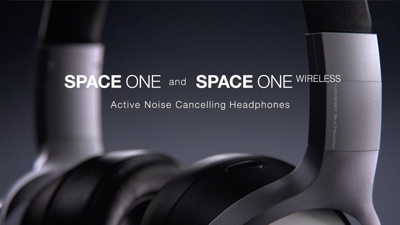1507b060a0b PORSCHE DESIGN - KEF - SPACE ONE and SPACE ONE WIRELESS - YouTube
