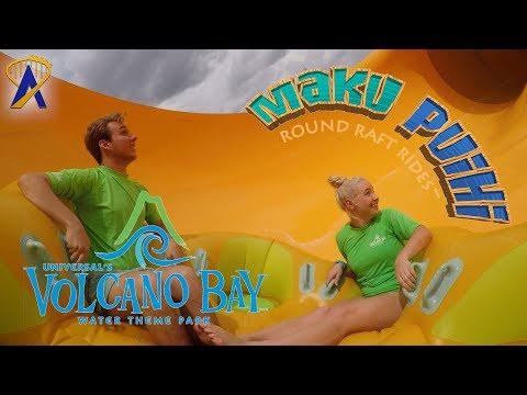 Maku Round Raft Slide - Universal's Volcano Bay Water Theme Park
