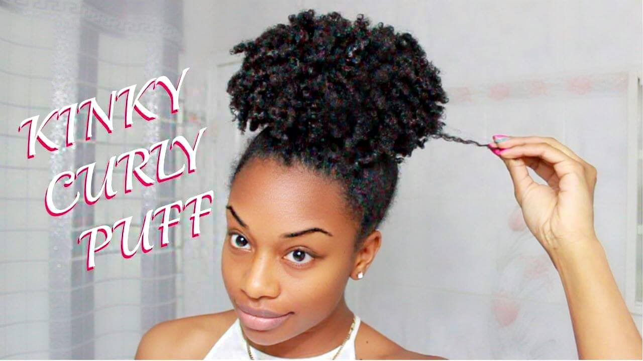 how to style american hair hair of the day 3 curly puff 6336