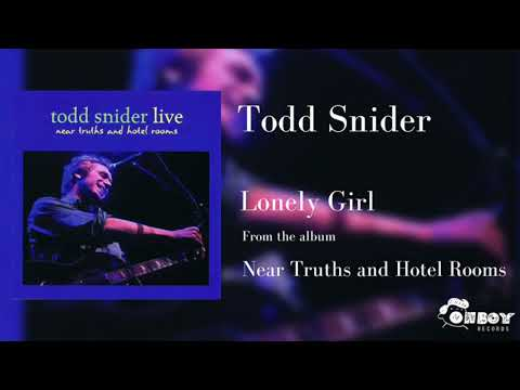 Todd Snider - Lonely Girl (Live)
