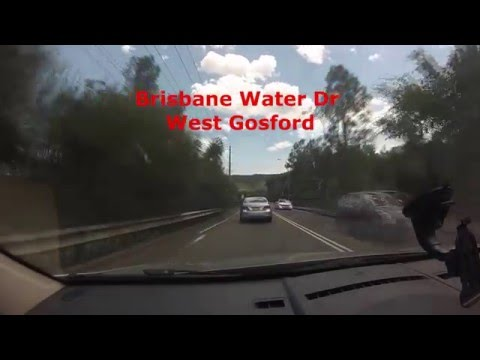 Scenic drive from West Gosford to Empire Bay