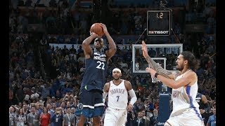 Best Plays From Thunder vs Timberwolves First 2 Showdowns of the Season | October 27, 2017