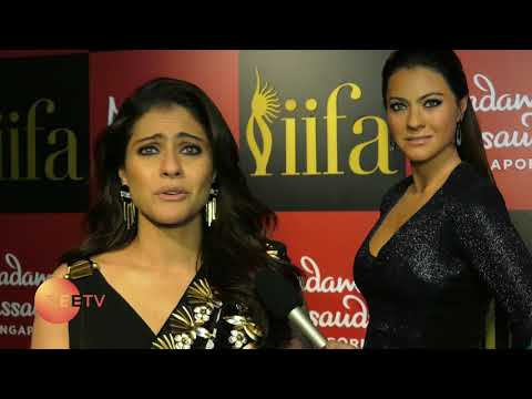 Kajol's wax statue unveiled at Madame Tussauds Singapore. Watch EXCLUSIVE interview