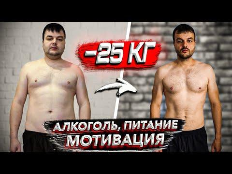 Как похудеть?!!Минус 25 кг!!! Алкоголь, питание, мотивация!!!Моя история похудения!!!