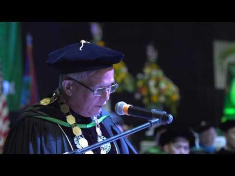 Commencement  |  Fañomnåkan (Spring) 2017 - UOG President Dr. Robert Underwood