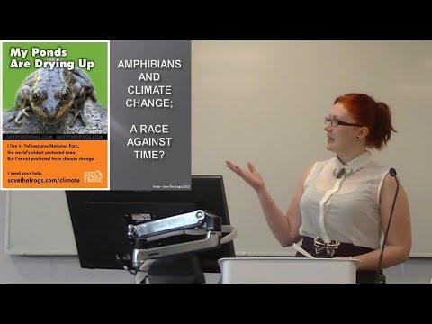 Communicating research presentation - Amphibians & Climate Change