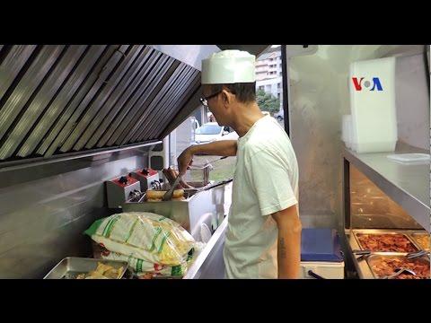 Thức ăn đường phố Việt Nam tại New Caledonia