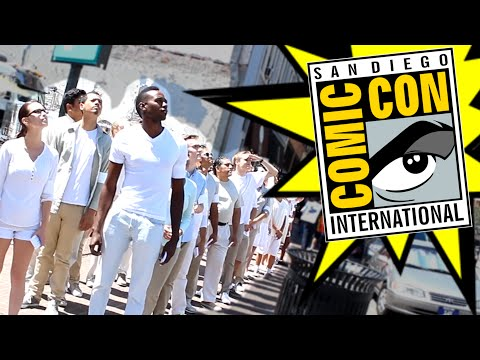 Insane Cultists Marching - San Diego Comic Con - Day 1