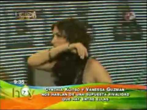 ¿Existe una rivalidad entre Cynthia Klitbo  y Vanessa Guzman?