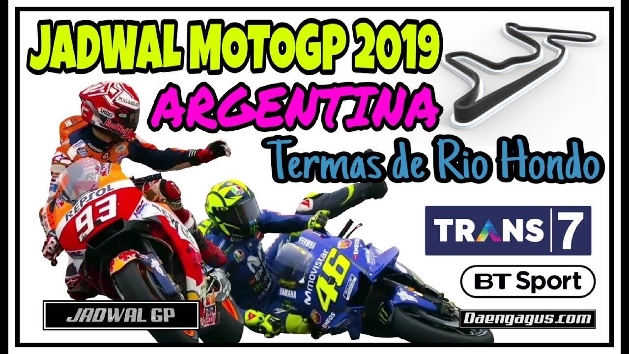 Jadwal MotoGP Argentina 2019 Trans7 Lengkap dengan Jam