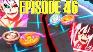 ACHILLES VS KNIGHT - SHU VS PHI?! BEYBLADE BURST TURBO EP 46