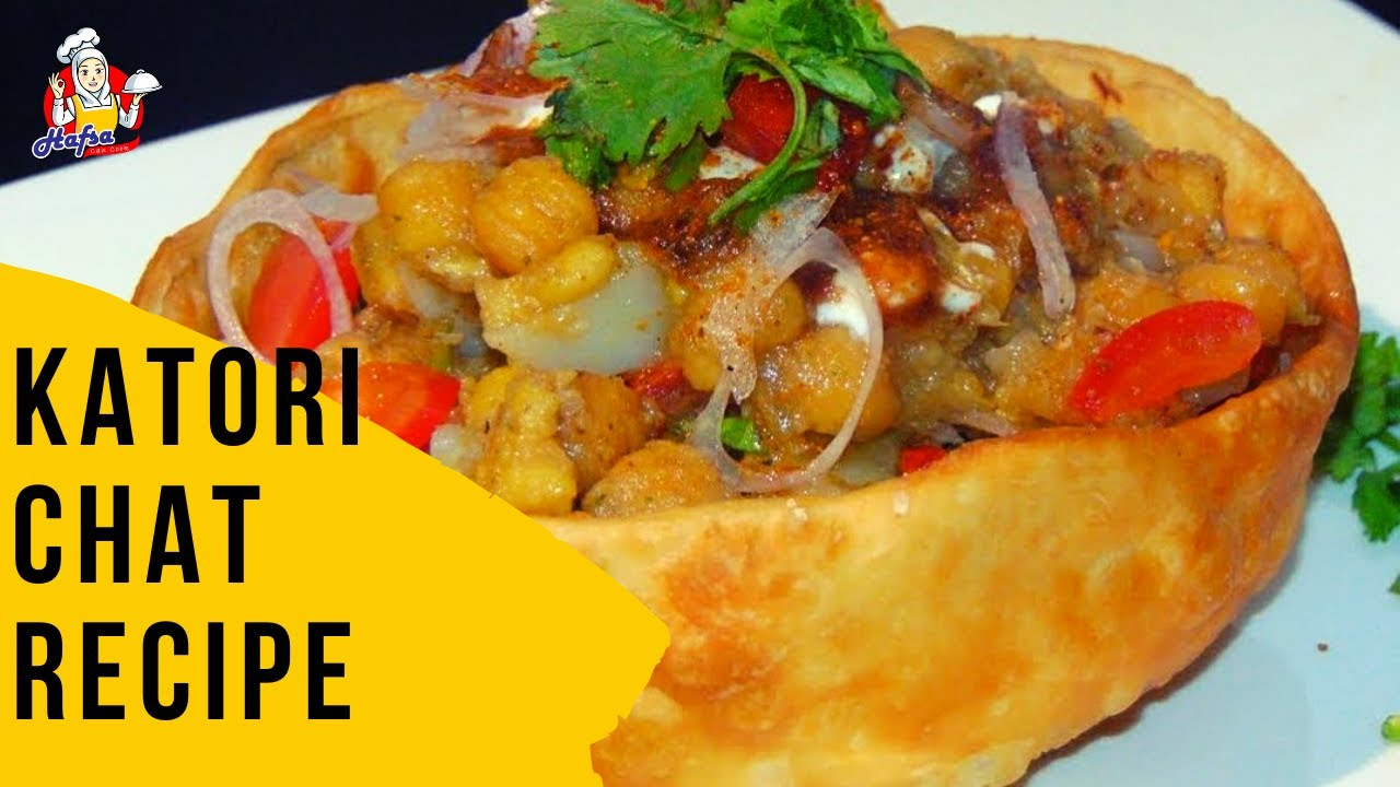 Ramzan Special Katori Chaat Recipe | Iftar Recipes - Hafsa Can Cook